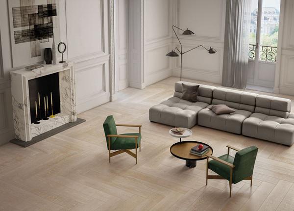 米黄色木纹防滑地板瓷砖